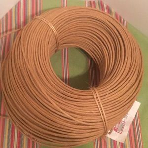 Other - 3 1/2 lbs Round Wicker For Weaving